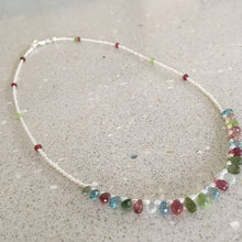 Load image into Gallery viewer, Fancy Gem Bead Necklaces Ai16