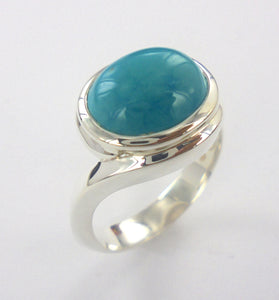 Turquoise Embrace Ring Ai146