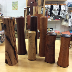 Revealing Timber - salt & pepper Grinders