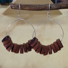 Load image into Gallery viewer, Buffalo Leather Earrings