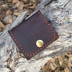Leather Square Coin Purses