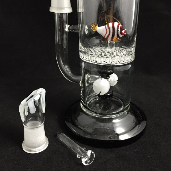 honeycomb pecolator bong
