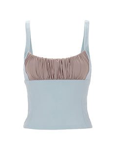 Shirr Tankini Top