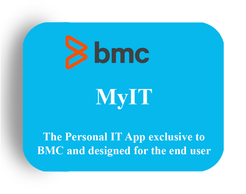 BMC MyIT - The Personal IT Service App