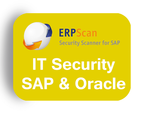 ERPScan: Security Scanning & Patch for SAP and Oracle