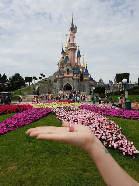 disneyland Paris bague mood interchangeable