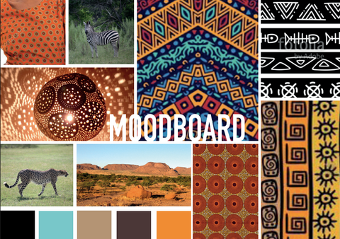 moodboard afrique