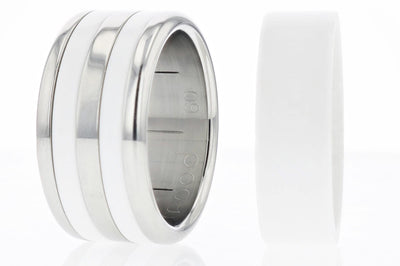 Ring - ::: Coffret Spécial 24h Chrono, White Mood, Base Small Arrondie Polie ::::