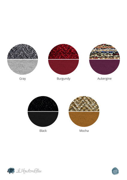wool color chart