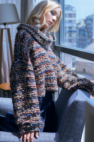 wide sleeves pullover