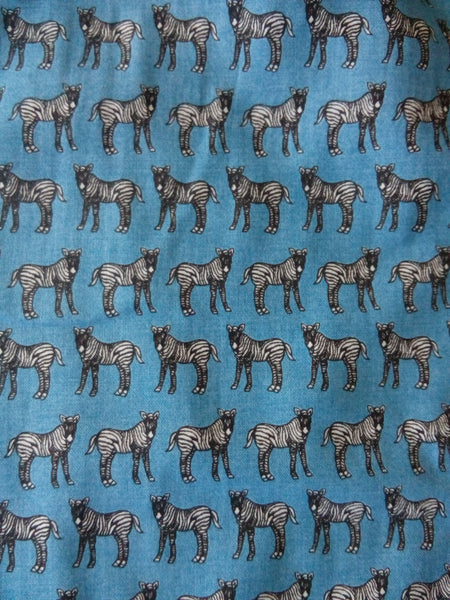 Zebra pattern fabric