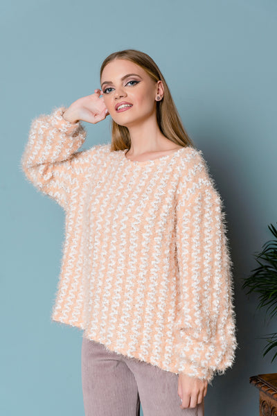 Oversized Fluffy Sweater