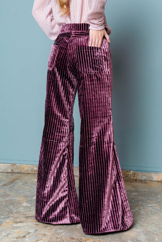 Pink Corduroy Bell Bottoms