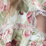 Floral and lace