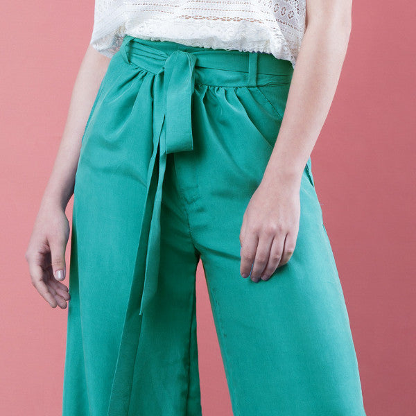 silk summer pants