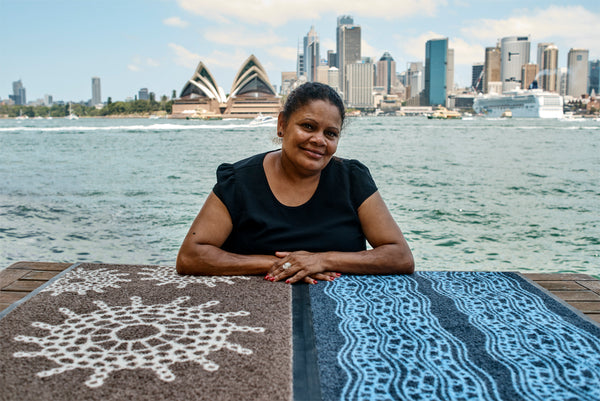 Aboriginal Design - Collecting Pippis - Bibi Barba