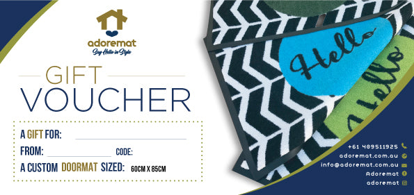 Adoremat Voucher (Personalised Doormat)
