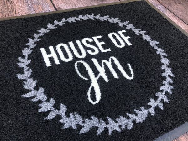 Custom Gift Doormats 60x85cm (Individual Designs) 20 Pack INCLUDES GST & Postage