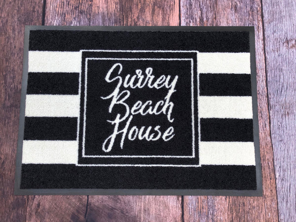 Personalised Doormat - Striped It
