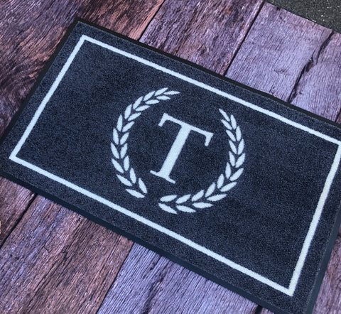 Personalised Doormat - Australiana/Classic/Crown Wreath Designs