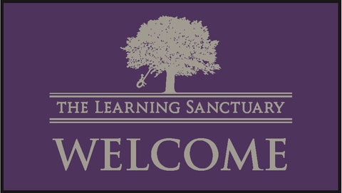 The Learning Sanctuary Centres - Large Welcome Mat 85cm x 150cm