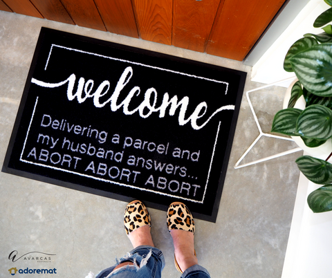 Online Shopper Addict Doormat