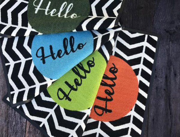 Hello Doormat - ask us about colours!