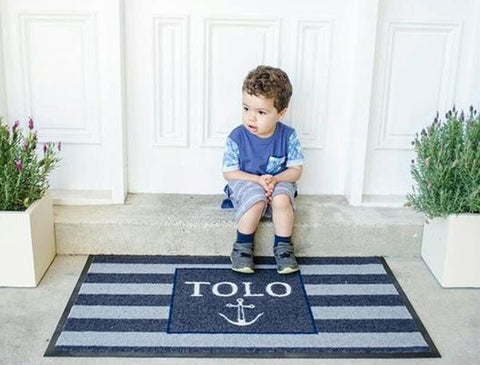 Personalised Doormat - Coastal Hamptons Style