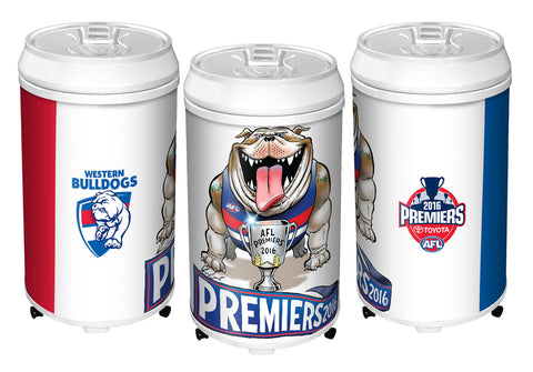 WEstern Bulldogs Premiership Can Fridge