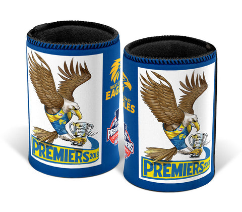2018 AFL Premiership Mark Knight Can Cooler