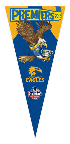 2018 AFL Premiership Wall Pennant - EXCLUSIVE TO HERALD SUN