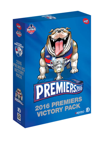 2016 AFL Premiership DVD Victory Pack - 5 DVD set