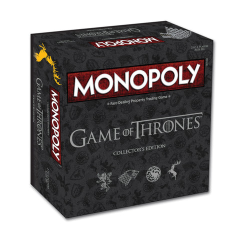 Game of Thrones Monopoly – Collector's Edition.