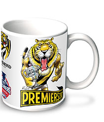 2017 AFL Premiership Mug - EXCLUSIVE TO HERALD SUN