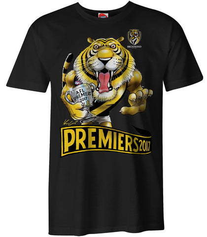 2017 Mark Knight AFL Premiership T-Shirts