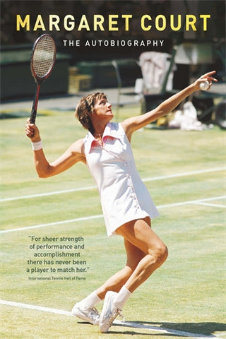 Margaret Court - The Autobiography - Signed book offer