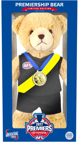 2017 Limited Edition Premiership Bear - PRE ORDER FOR DELIVER Y IN JANUARY