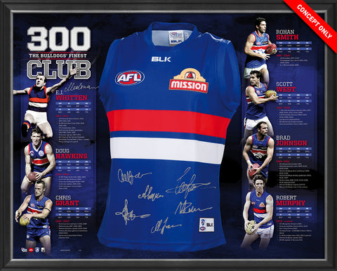 THE WESTERN BULLDOGS 300 CLUB JERSEY