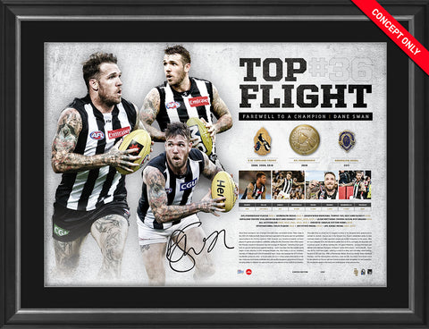 TopFlight - Dane Swan Retirement Lithograph