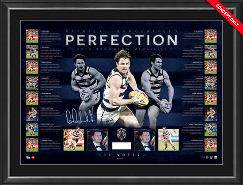 2016 Official Brownlow Medal Lithograph