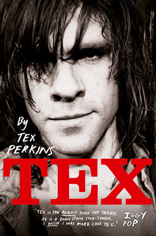 TEX by Tex Perkins - Signed Book Offer
