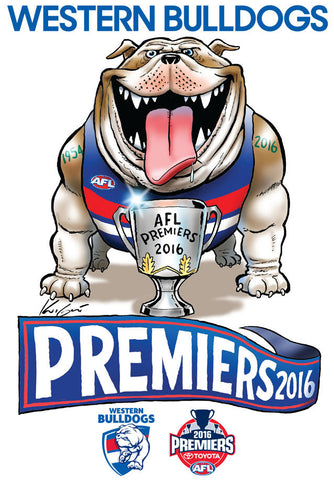 2016 AFL Premiership Mark Knight Sticker