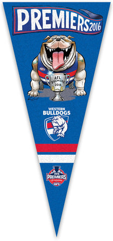 2016 AFL Premiership Wall Pennant - EXCLUSIVE TO HERALD SUN