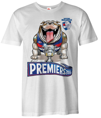 2016 Mark Knight AFL Premiership T-Shirts