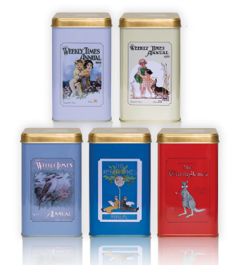 The Weekly Times Limited Edition Vintage Tin Collection  - Special Subscriber Offer