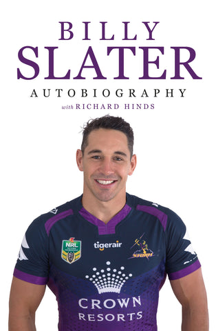Billy Slater Autobiography - signed copies available