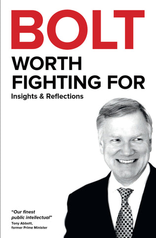 BOLT- Worth Fighting For - signed book offer