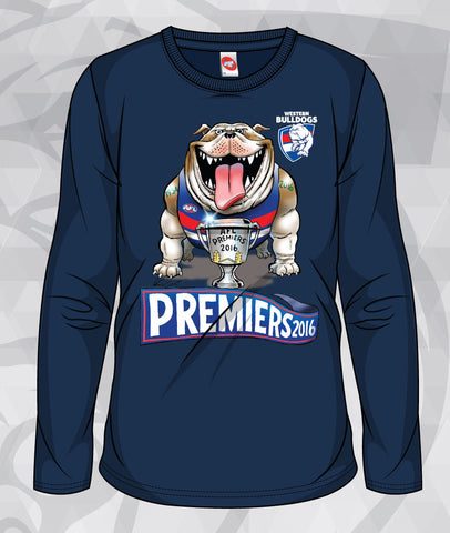2016 Mark Knight AFL Premiership Long Sleeve T-Shirts - NEW PRODUCT!