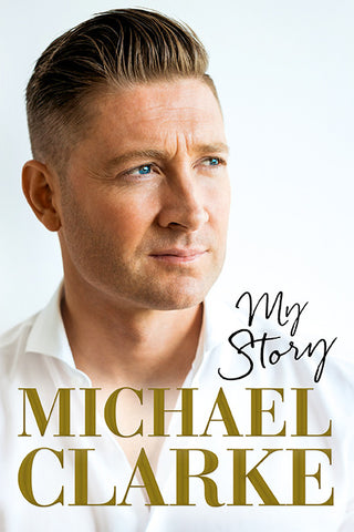 Michael Clarke - My story - Signed Book Offer