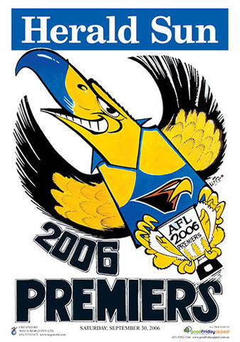 WEG Premiership Poster - West Coast 2006